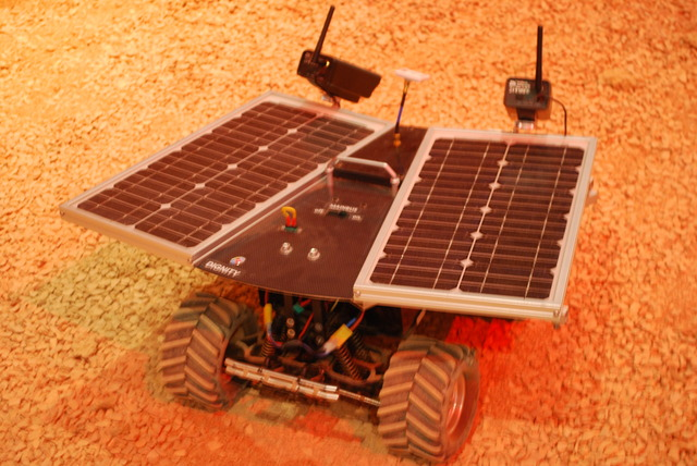 The mars rover.